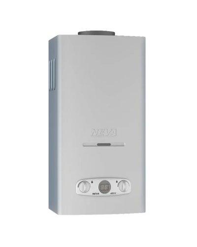 Газовый водонагреватель Нева 4511 (авторозжиг) Серебро